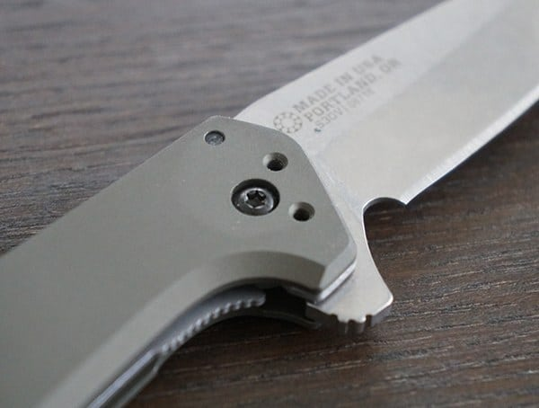 Fast And Smooth Flipper Switch Gerber Fastball Knife