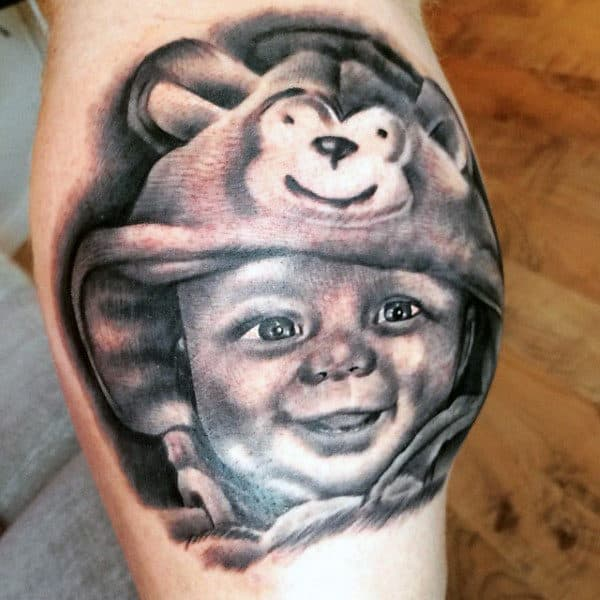 Father And Son Tattoo Ideas On Men