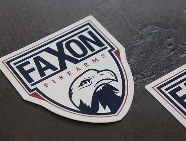 Faxon Firearms Included Stickers With Barrel