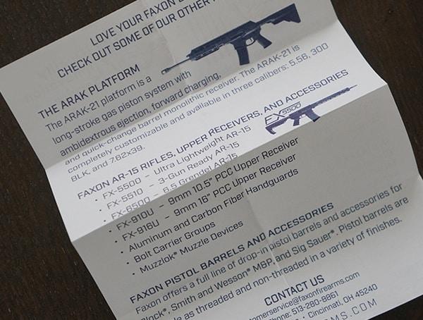 Faxon Firearms Match Series Barrels Installation Details