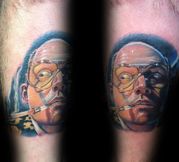 Fear And Loathing Hunter S Thompson Tattoos