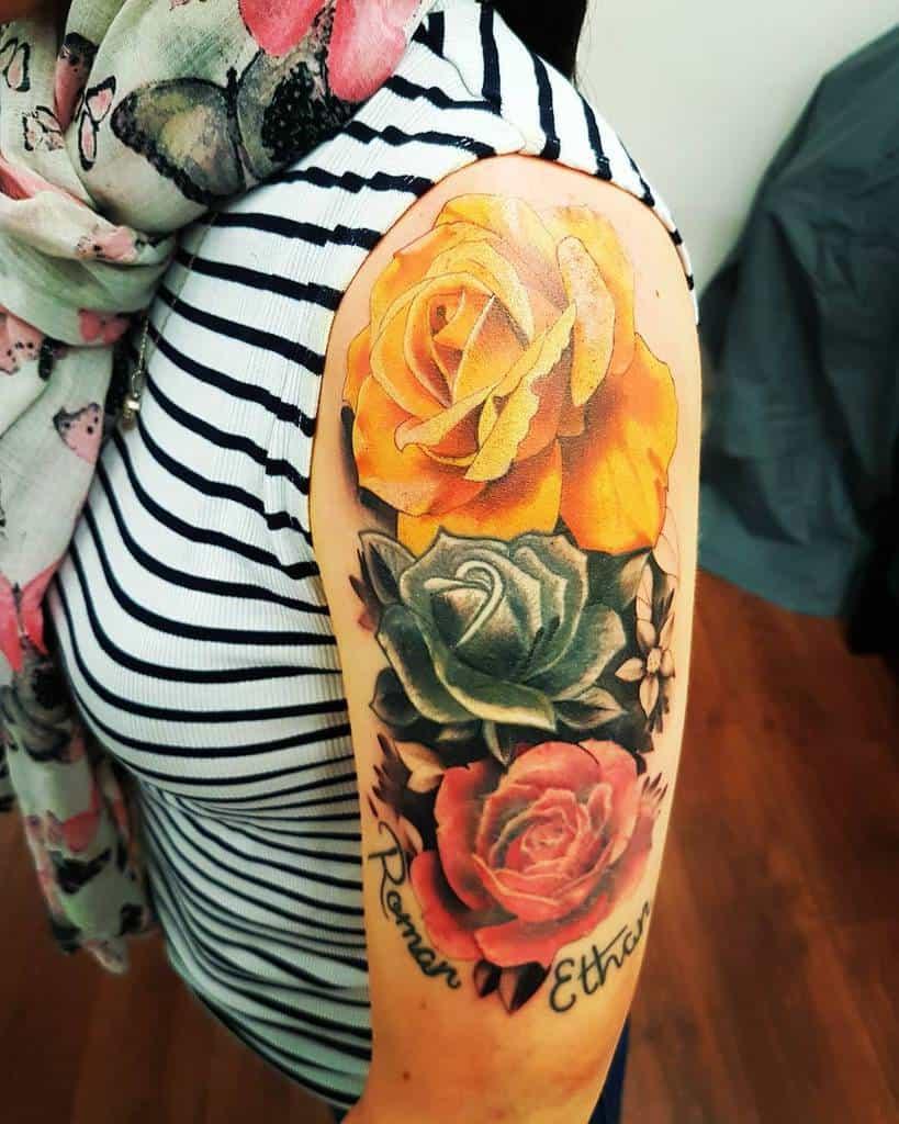 female rose sleeve tattoos lovettrm_tattoo_