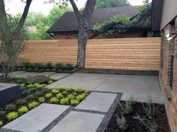 Fence In Backyard