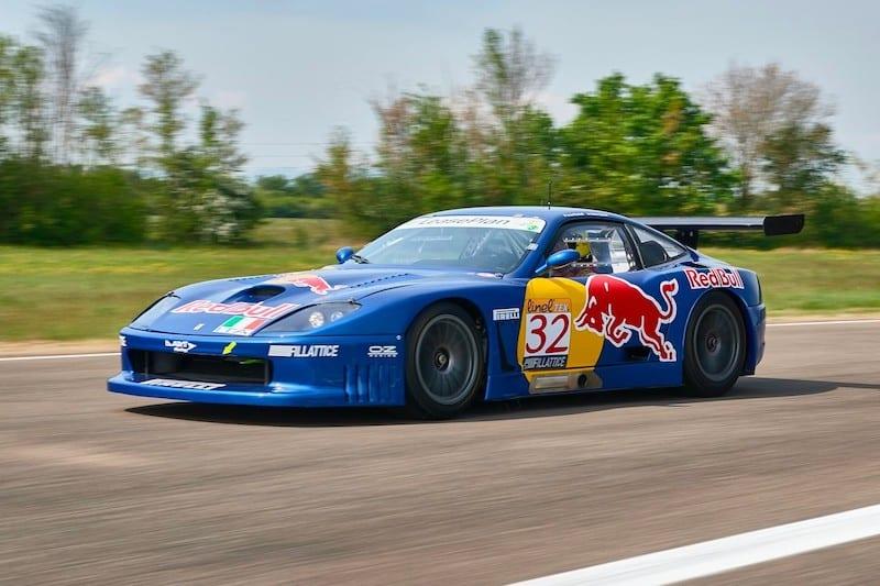 Le Mans-Winning Ferrari 550 GT1 Is Up for Auction