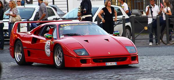 Ferrari F40 Exotic Cars