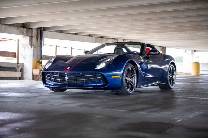 Rare Ferrari F60 America Going to Auction