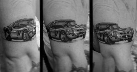 Ferrari Male Tattoos