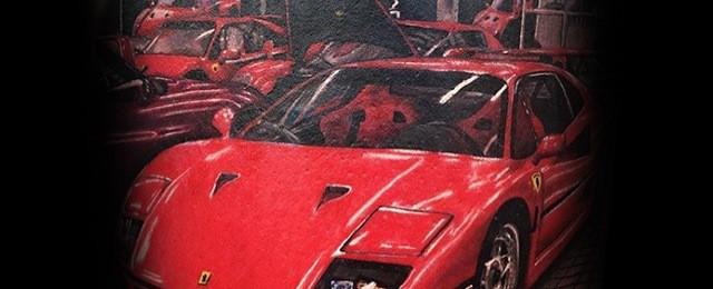 50 Ferrari Tattoo Ideas For Men – Italian Sports Car Designs