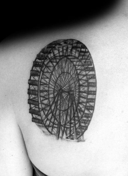 Ferris Wheel Guys Tattoo Designs