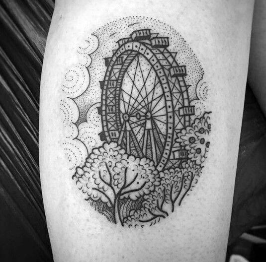 Ferris Wheel Themed Tattoo Ideas
