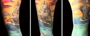 Top 77 Best Ocean Tattoo Ideas – [2020 Inspiration Guide]