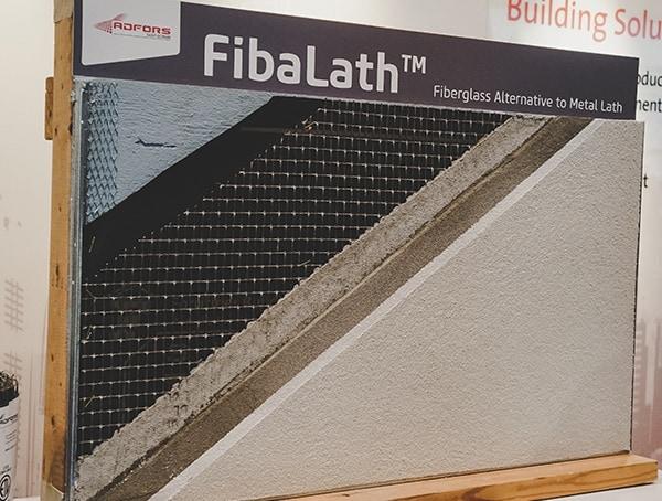 Fibalath Fiberglass Alternative To Metal Lath 2019 Nahb Show
