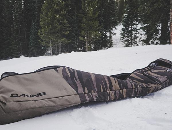 Field Camo Dakine Fall Line Ski Roller Bag Review