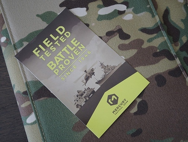 Field Tested Battle Proven Mercury Tactical Zippered Padfolios