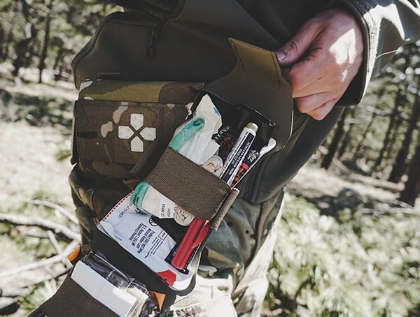 Field Tested Medical Kit Blue Force Gear Micro Trauma Kit Now