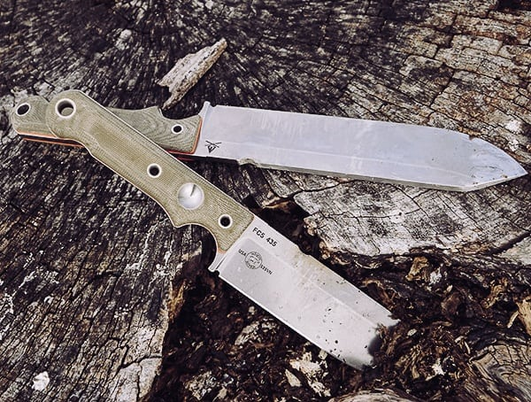 Field Tested White River Knives Firecraft Review With Green Canvas Micarta Handle Scales