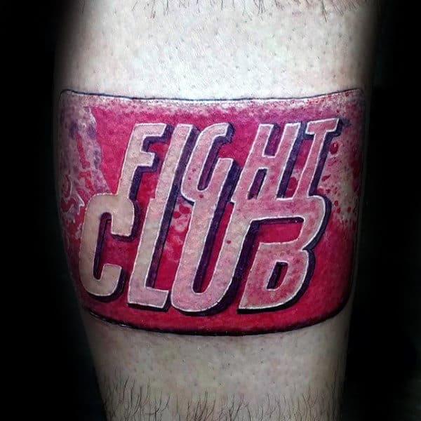 Fight Club Soap Bar Male Arm Tattoo Designs