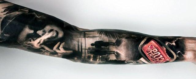 Fight Club Tattoos For Men