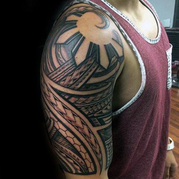 Filipino Sun Guys Tattoos