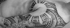 50 Filipino Sun Tattoo Designs For Men – Tribal Ink Ideas