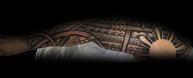 70 Filipino Tribal Tattoo Designs For Men – Sacred Ink Ideas