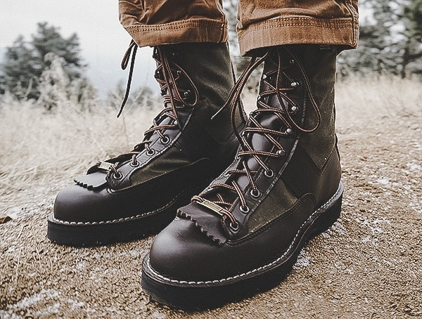 Filson X Danner Grouse Boots Review Outdoor On Hiking Trail