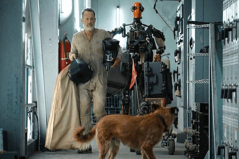 Tom Hanks, a Robot, and a Dog Try and Survive the Apocalypse in 'Finch'