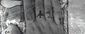 75 Finger Tattoos For Men – Manly Design Ideas