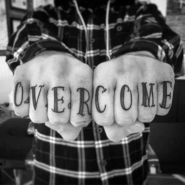 Fingers Guys Overcome Tattoos