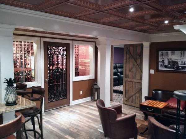 Finish Basement Ceiling Ideas