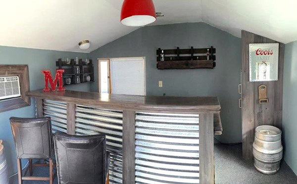 Finished Bar Shed Design Ideas