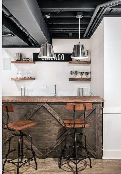 Finished Basement Design Inspiration