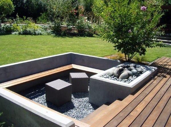fire pit ideas outdoor living fire pit ideas outdoor living top 60 best heated backyard retreat designs
