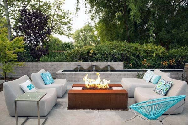 Fire Pit Landscaping Backyard Ideas