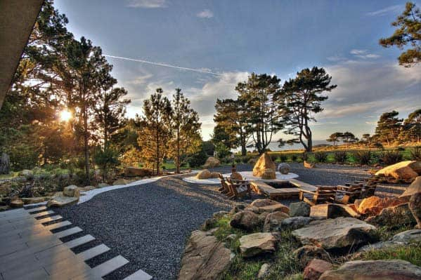 Fire Pit Landscaping Idea Inspiration