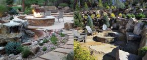Top 50 Best Fire Pit Landscaping Ideas – Backyard Designs