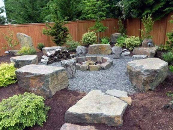 Top 50 Best Fire Pit Landscaping Ideas Backyard Designs
