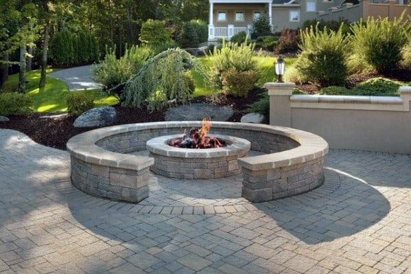 Fire Pit Seating Design Ideas