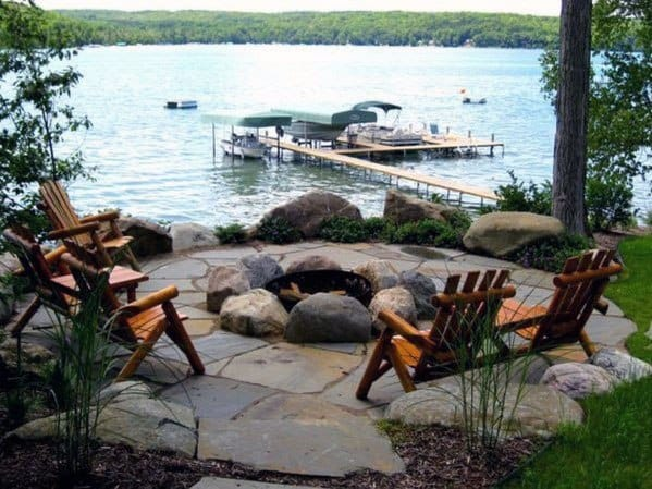 Fire Pit Seating Design Inspiration