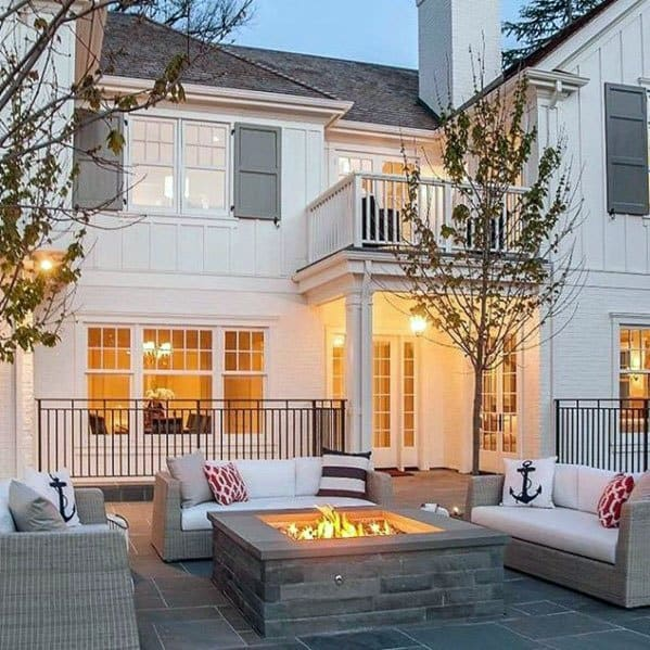 Fire Pit Seating Home Designs