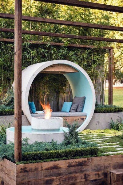 Fire Pit Seating Home Ideas