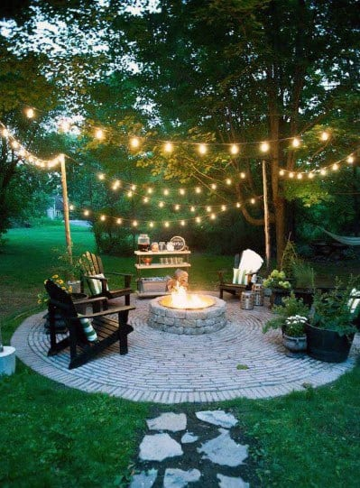 Fire Pit Seating Idea Inspiration
