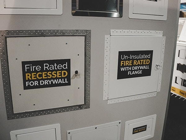 Fire Rated Recessed Drywall Access Boxes 2019 Nahb International Builders Show