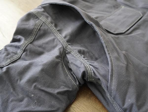 Fire Resistant Full Swing Quick Duck Jacket For Men Armpit Stich Detail