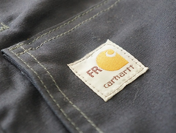Fire Resistant Full Swing Quick Duck Jacket Patch Detail On Chest