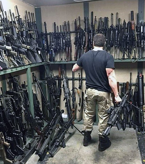 Firearms Arsenal Gun Room Storage