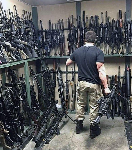 Firearms Arsenal Gun Room Storage