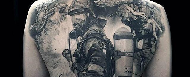 50 Firefighter Tattoos For Men – Masculine Fireman Ideas