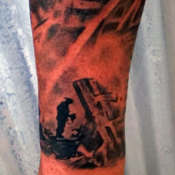 Firefighter Tattoos Sleeves For Men