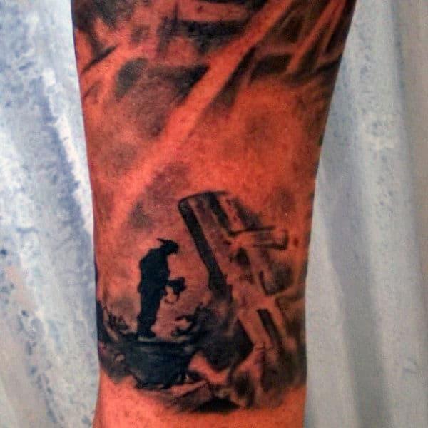 Firefighter Tattoos Sleeves For Men
